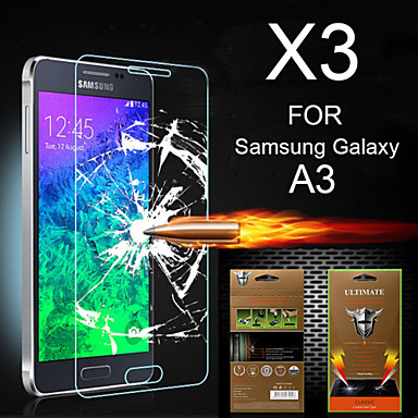 Protetor de Tela para Samsung Galaxy A3 PET Protetor de Tela Frontal