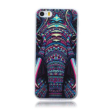 olifant patroon tpu zachte achterkant beschermhoes voor iphone 5c iphone hoesjes