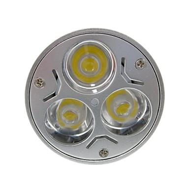 180 lm GU5.3(MR16) Lâmpadas de Foco de LED MR16 3 leds LED de Alta Potência Branco Quente Branco Frio AC 12V DC 12V AC 85-265V