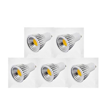 5W GU10 LED-spotlampen MR16 1 COB 450-500 lm Warm wit Koel wit Natuurlijk wit K Dimbaar AC 220-240 AC 110-130 V