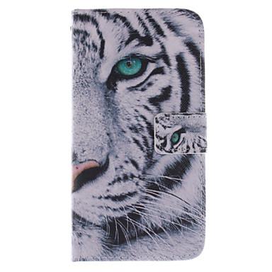 Para Samsung Galaxy Capinhas Porta-Cartão / Com Suporte / Flip / Estampada Capinha Corpo Inteiro Capinha Animal Couro PU SamsungGrand