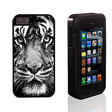 Voor iPhone 5 hoesje Hoesje cover Schokbestendig Achterkantje hoesje dier Hard PC voor iPhone SE/5s iPhone 5