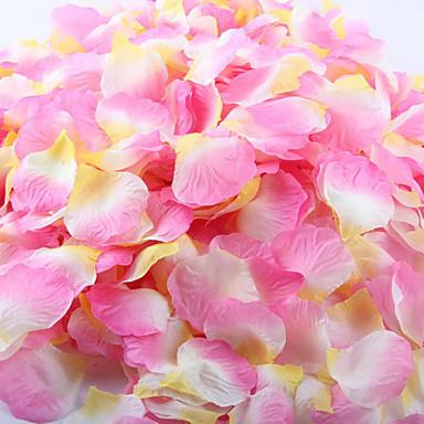 1 Tak Polyester Rozen Bloemen voor op tafel Kunstbloemen