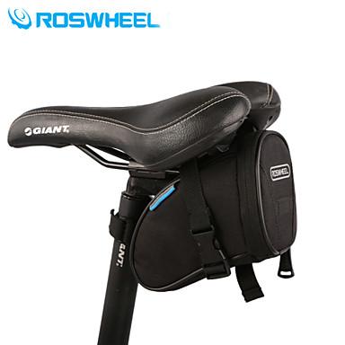 ROSWHEEL 1.2 L Sacoche de Selle de Vélo Multifonctionnel Sac de Vélo Ripstop 600D Sac de Cyclisme Sacoche de Vélo Cyclisme / Vélo