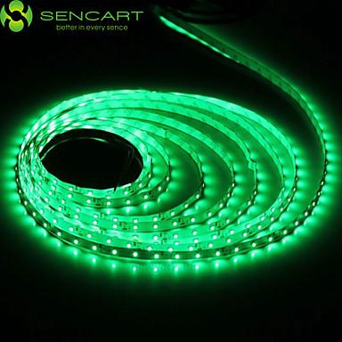 5m Ευέλικτες LED Φωτολωρίδες 300 LEDs Θερμό Λευκό RGB Άσπρο Πράσινο Κίτρινο Μπλε Κόκκινο Μπορεί να κοπεί Με ροοστάτη Αυτοκόλλητο