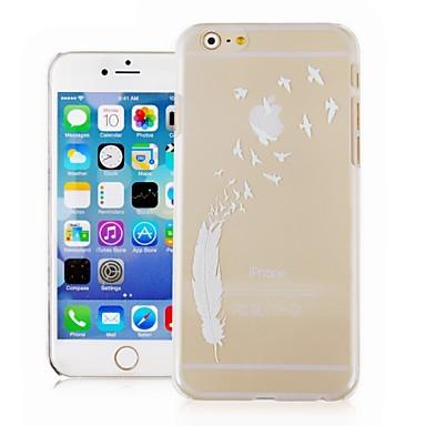 Para Capinha iPhone 6 / Capinha iPhone 6 Plus Transparente / Estampada Capinha Capa Traseira Capinha Pena Rígida PCiPhone 6s Plus/6 Plus