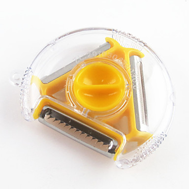 1 Piece Peeler & Grater For Fruit / Vegetable Plastic Multifunction / High Quality / Creative Kitchen Gadget / Novelty