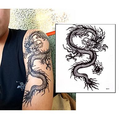 1 não tóxica Lombar Á Prova d'água Séries Totem Outros Tatuagens Adesivas
