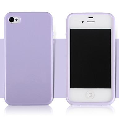 용 아이폰5케이스 Other 케이스 뒷면 커버 케이스 단색 소프트 TPU iPhone SE/5s/5