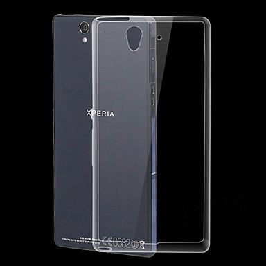 ultra dunne transparante TPU zachte hoes voor Sony Xperia Z l36h c6603