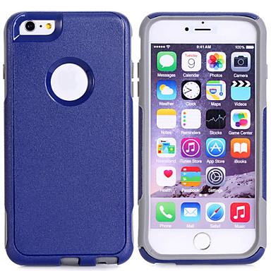 proteção TPU super-pc + 2em1 combinação shell capa protetora para o iPhone 6 mais (cores sortidas)