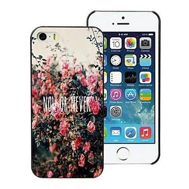 nu of nooit ontwerp harde case voor de iPhone 4 / 4s
