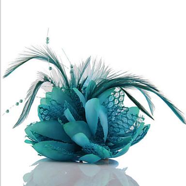 Dames Vintage Schattig Feest Alle seizoenen Haarclip Groen Roze Lichtblauw Fuchsia Lichtblauw