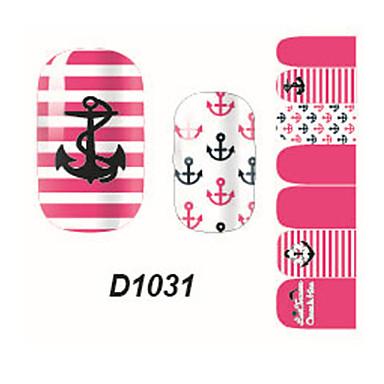 Nagelkunst sticker 3D Nagelstickers Cartoon Schattig make-up Cosmetische Nagelkunst ontwerp