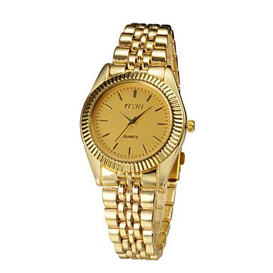 2015 dámské náramkové hodinky s luxusní zlaté pásmo módní šaty hodinky  zbrusu nové nerezové oceli Relogio a582f498312