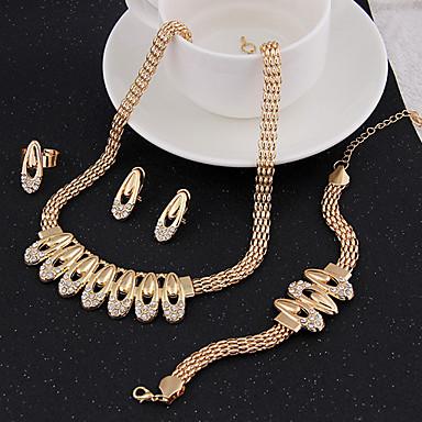 Dames Sieraden Set Cuff armband Vintage Schattig Feest Informeel leuke Style Schakels/ketting Modieus Opvallende sieraden Feest Speciale