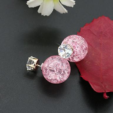 Dames Oorknopjes Kristal Modieus Europees Kostuum juwelen Strass Verguld 18K goud Gesimuleerde diamant Oostenrijks kristal Sieraden Voor