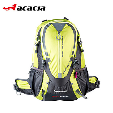 Acacia Fietstas 40L Fietsen Backpack Regenbestendig Stofbestendig Draagbaar Schokbestendig Reflecterende strips Multifunctionele Fietstas