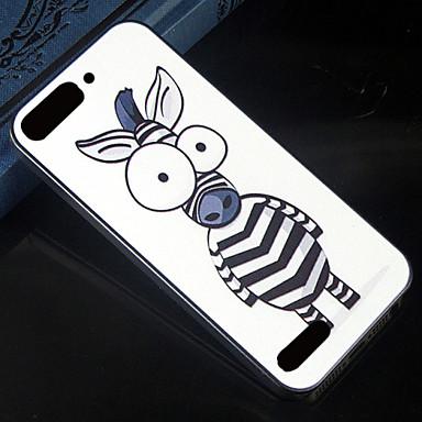 cartoon zebra patroon ontwerp patroon terug te dekken beschermende harde case voor Huawei Ascend g6