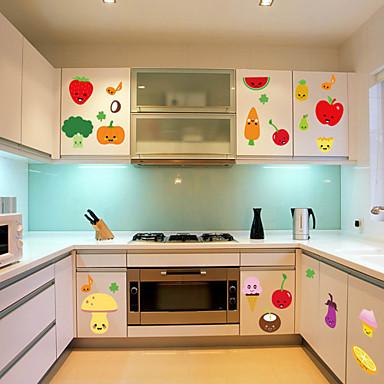 muurstickers muur stickers stijl fruit keuken decoratie pvc muurstickers