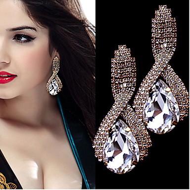 Γυναικεία Κρεμαστά Σκουλαρίκια Στρας Κράμα Κοσμήματα Γάμου Πάρτι Καθημερινά Causal