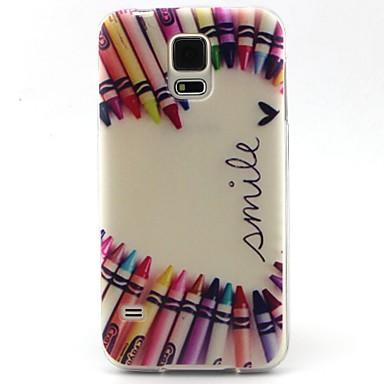 Para Samsung Galaxy Capinhas Estampada Capinha Capa Traseira Capinha Desenho TPU SamsungS6 edge / S6 / S5 Mini / S5 / S4 Mini / S4 / S3