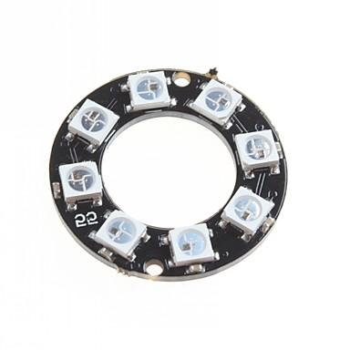 ws2812 5050 RGB οδήγησε έξυπνη ανάπτυξη του συμβουλίου φως RGB πλήρους δαχτυλίδι χρώμα