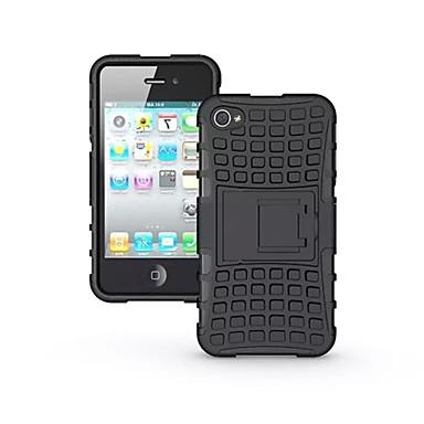 tok Για Apple Θήκη iPhone 5 iPhone 6 iPhone 6 Plus iPhone 7 Plus iPhone 7 Ανθεκτική σε πτώσεις με βάση στήριξης Πίσω Κάλυμμα Συμπαγές