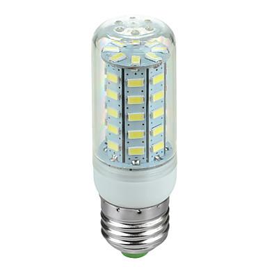 E26/E27 LED-maïslampen Roteerbaar 48 SMD 5730 600 lm Koel wit AC 220-240 V 1 stuks