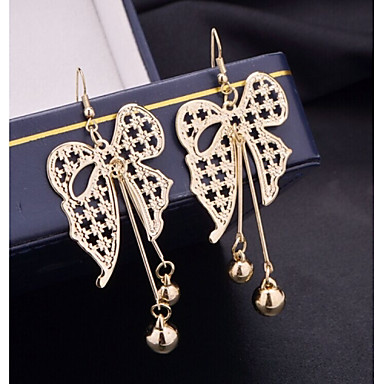 Druppel oorbellen Verguld Legering Zilver Gouden Sieraden Voor Bruiloft Feest Dagelijks Causaal Sport 1 Set