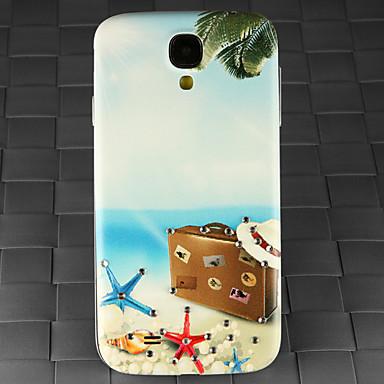 broca e verão padrão mala praia pc volta caso capa para Samsung Galaxy S4 / 9500