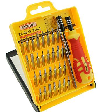 rewin® eszköz 33pcs precíziós eletronic csavarhúzó készlet kézi szerszám készlet