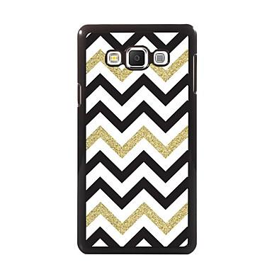Para Samsung Galaxy Capinhas Case Tampa Estampada Capa Traseira Capinha Linhas / Ondas PC para Samsung A8 A7 A5 A3