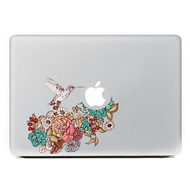 καρακάξα λουλούδια διακοσμητικό αυτοκόλλητο δέρμα για MacBook Air / Pro / Pro με οθόνη Retina