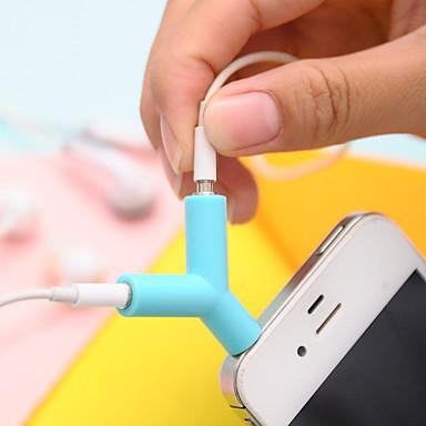 3.5mm Earphones Sharing Type Plug(Random Color) DIY for iPhone Samsung Galaxy s8 s7 Sony Huawei