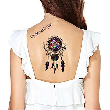 Tatuagens Adesivas Outros não tóxica Á Prova d'água Feminino Masculino Adulto Adolescente Tatuagem Adesiva Tatuagens temporárias
