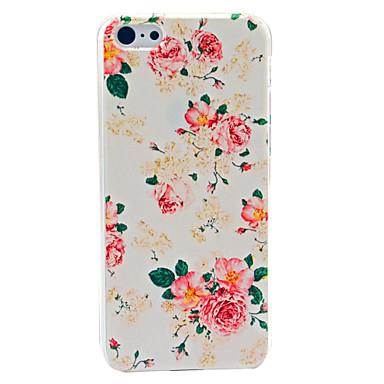 Frumos model floare greu de caz pentru iPhone 5C
