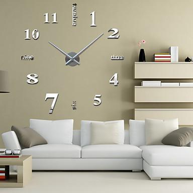 Moderno/Contemporâneo Outros Relógio de parede,Redonda Outros 42.5*15.5*9.5 Interior Relógio