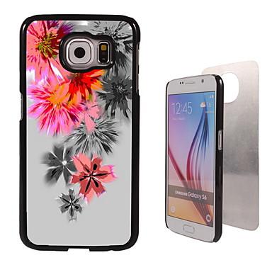 Για Samsung Galaxy Θήκη Θήκες Καλύμματα Με σχέδια Πίσω Κάλυμμα tok Λουλούδι PC για Samsung S6