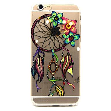 Για iPhone 6 iPhone 6 Plus Θήκες Καλύμματα Διαφανής Με σχέδια Πίσω Κάλυμμα tok Ονειροπαγίδα Μαλακή TPU για iPhone 6s Plus iPhone 6 Plus