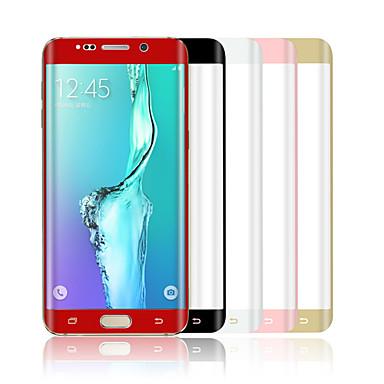 angibabe 0,1 mm huisdier warmbuigen oppervlak membraan voor Samsung Galaxy s6 rand plus g9280 5,7 inch (assorti kleur)