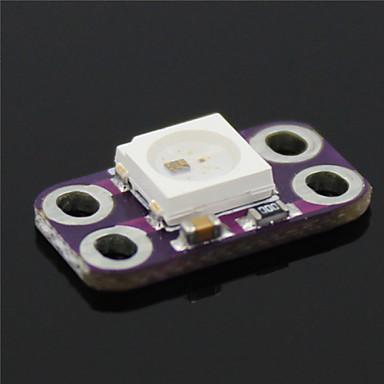 ws2812b RGB LED 4-pin Πλακέτες οδηγός - μοβ + λευκό
