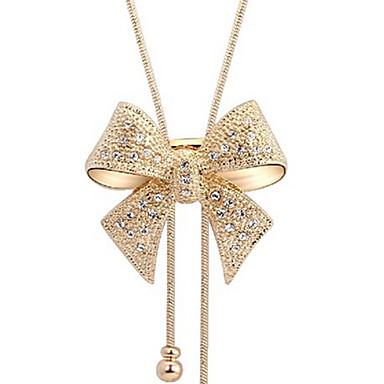 Dámské Náhrdelníky s přívěšky - Umělé diamanty Motýlek Luxus ... c2baf0d475b