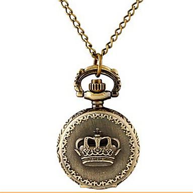 Dames Zakhorloge Horlogeketting Kwarts Legering Band Vintage