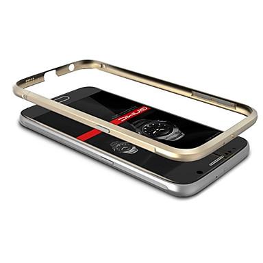 hoesje Voor Samsung Galaxy Samsung Galaxy hoesje Beplating Bumper Effen Kleur Metaal voor S6