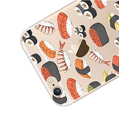 iPhone X 04564964 iPhone Morbido retro Fantasia 6 Per Per Alimenti X TPU 6 Custodia per iPhone 8 disegno iPhone Apple Plus iPhone Transparente qRBTIt