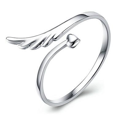 Midiringen Kristal Legering Wings Zilver Sieraden Dagelijks Causaal Sport 1 stuks