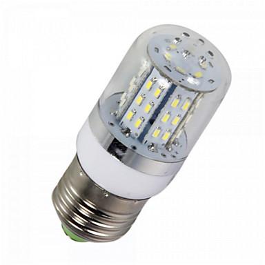 YWXLIGHT® 1 buc 5 W Becuri LED Corn 450 lm E14 E26 / E27 T 48 LED-uri de margele SMD 3014 Intensitate Luminoasă Reglabilă Decorativ Alb Cald Alb Rece 12 V / 1 bc / RoHs