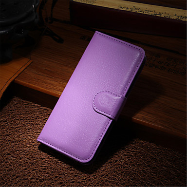 voordelige iPhone X hoesjes-hoesje Voor iPhone 5c / Apple / iPhone X iPhone X / iPhone 8 Plus / iPhone 8 Volledig hoesje Hard PU-nahka