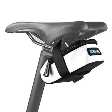 ROSWHEEL Bolsa de Bicicleta 0.5L Bolsa para Bagageiro de Bicicleta Prova-de-Água Zíper á Prova-de-Água Vestível Resistente ao Choque